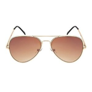 Accessories - Aviator Sunglasses ‼️2/$25‼️ with Gold Frame